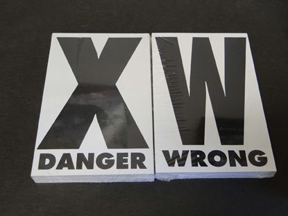 "Picture of ""X"" & ""W"" Trail Marking Cards"