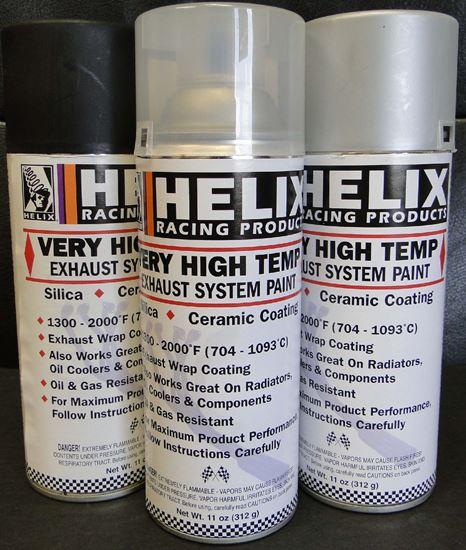 High Temp Exhaust Paint
