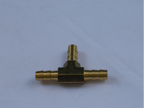 """Picture of 1/4"""" Barb 3-Way, """"T"""", Hose Splicer"""