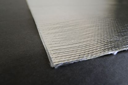 "Picture of 12""X40"" Aluminized Heat Barrier"