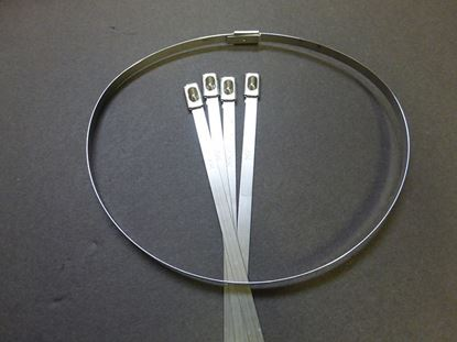 "Picture of 14"" Stainless Steel Cable Ties"