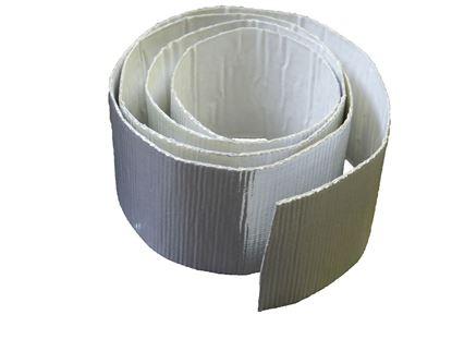 "Picture of 2""X15' Aluminized Heat Shield"