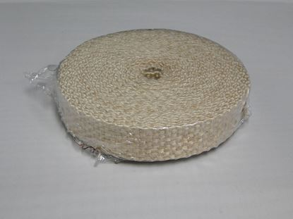 "Picture of 1"" X 25' Tan Exhaust Wrap"